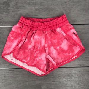 Lululemon tracker short iv tidal boom juice pink 4